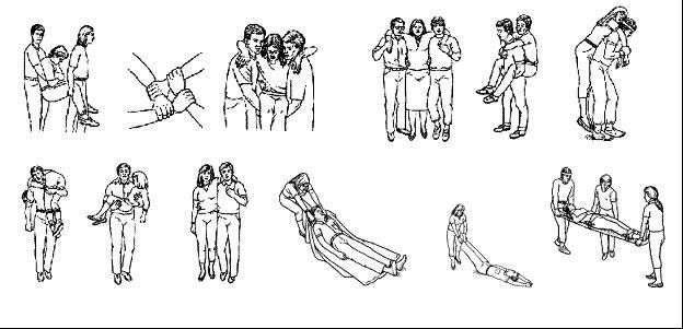 Носилки для переноски больных своими руками
